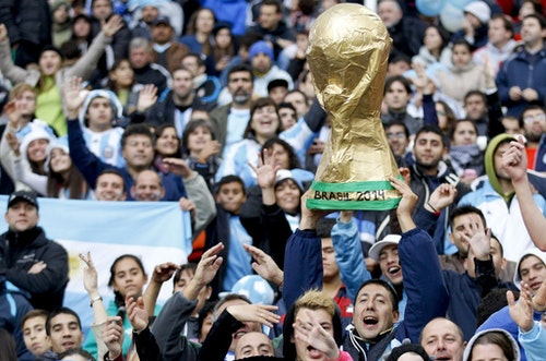 Argentina Slovenia WCup Soccer