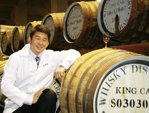 Master Blender Ian Chang of Kavalan. Photo Credit: Taiwan Business TOPICS
