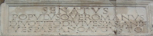 Arch_of_Titus-Inscription