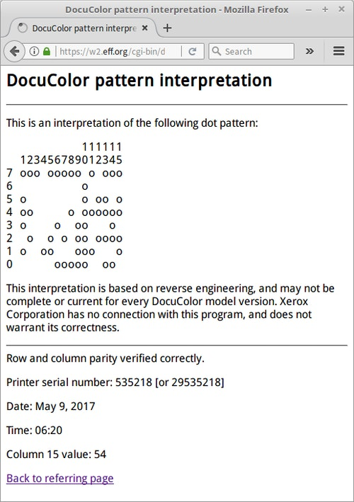 DocuColor_Pattern_Interpretation