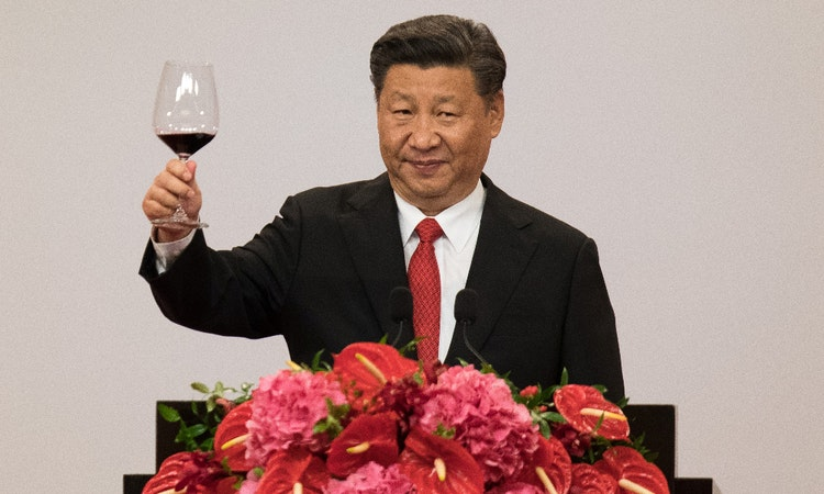 China's Football Play Sees Xi Pushing Others Offside