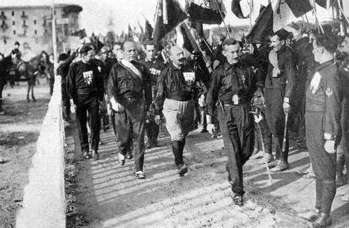 March_on_Rome_1922_-_Mussolini
